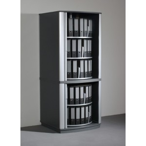 colonne rotative ferm e pour dossiers pos s. Black Bedroom Furniture Sets. Home Design Ideas