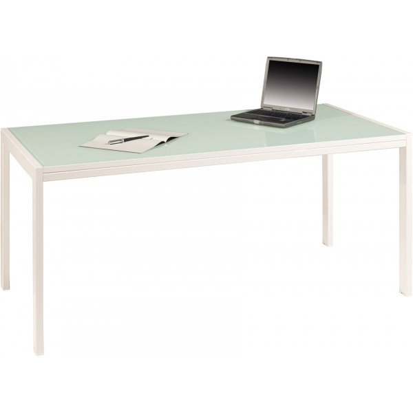 Bureau Direction Rectangulaire Verre H S