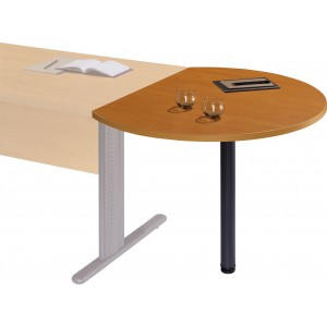 TABLE DE CONVIVIALITE RONDE PIEDS FIXES