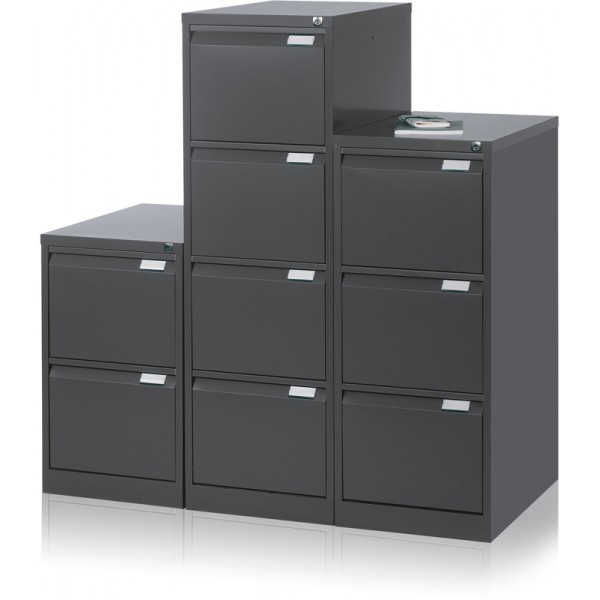 classeur 4 tiroirs pour dossiers suspendus h s. Black Bedroom Furniture Sets. Home Design Ideas
