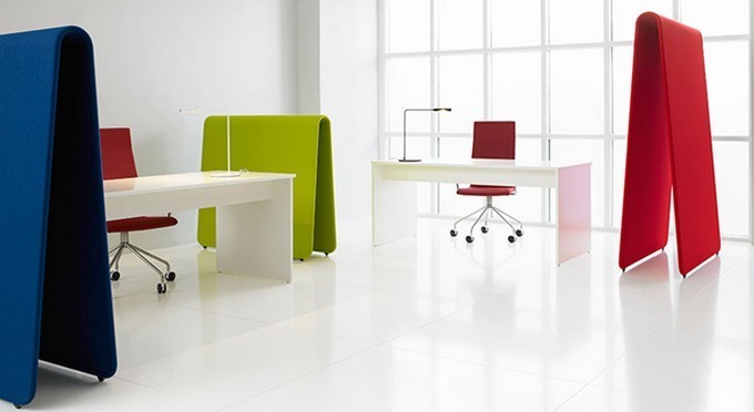 Cloisons pour am nagement mobilier de bureau design for Bureau professionnel design